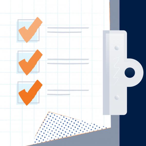 Easy contribution form checklist