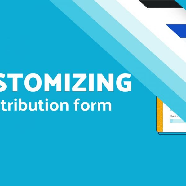 Customizing a Contribution Form